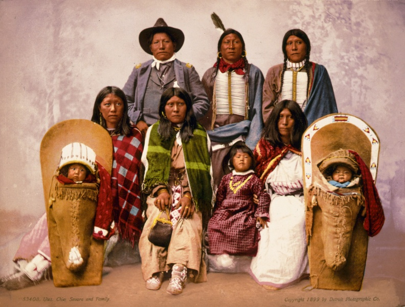 utes_chief_severo_and_family_1899