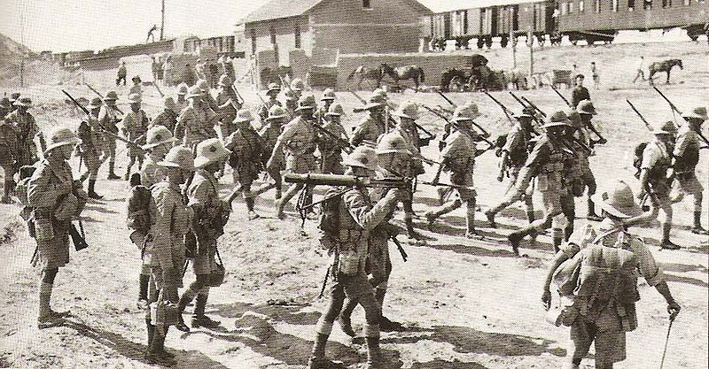 north-staffords-dunsterforce-marching-for-baku